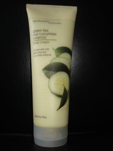 Bath & Body Works Green Tea and Cucumber Essence Body Cream 8 oz.