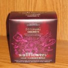 Bath and Body Works Aromatherapy SANDALWOOD FIG Wallflower Refills 2 bulbs