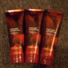 Lot of 3 Bath & Body Works Midnight Pomegranate Triple Moisture Body Cream 8 Oz