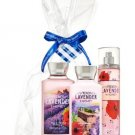 "BATH AND BODY WORKS.""""NEW FRENCH LAVENDER & HONEY"""" GIFT SET..FREE SHIPPING..!!!"