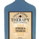 Village Naturals Therapy Stress & Tension Mineral Shower Gel 12.6 fl oz