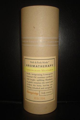 Bath and Body Works Aromatherapy Lemongrass Mandarin Body Essence 4 Oz