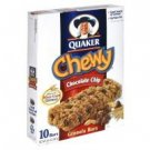 Quaker Chewy Granola Bars, Chocolate Chip, 8.4 oz, (pack of 3)
