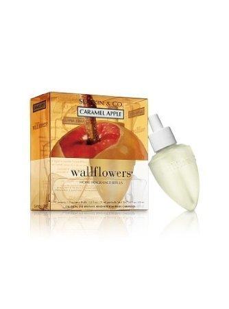 Bath & Body Works Caramel Apple Wallflowers Wallflower Refill Bulbs by Slatkin &