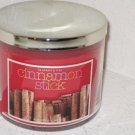 Bath & Body Works Slatkin & Co 14.5 Oz. Filled Candle in Glass Jar Cinnamon Stic