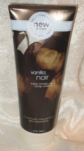 Bath & Body Works Signature Collection Vanilla Noir Body Cream, 8 oz (226 g)
