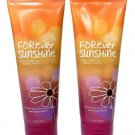 Bath and Body Works Signature Collection (2) Forever Sunshine Triple Moisture Bo