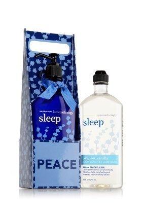 Bath and Body Works Aromatherapy Village Carrier Sleep - Lavender Vanilla Body L
