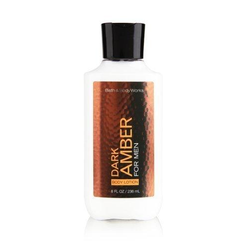 Bath and Body Works Dark Amber 8.0 oz Body Lotion
