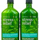 Bath & Body Works Aromatherapy Body Lotion Eucalyptus Spearmint (2-Pack)