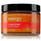 Bath & Body Works Aromatherapy Energy Orange Ginger Sugar Scrub 13 fl oz