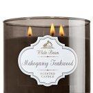Bath & Body Works Mahogany Teakwood Scented Candle 14.5 Oz - 3 Wick