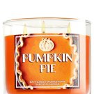 Bath & Body Works Candle 3 Wick 14.5 Ounce Pumpkin Pie