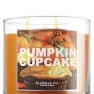 Slatkin & Co14.5 Oz. 3-wick Candle Pumpkin Cupcake