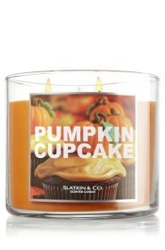Slatkin & Co14.5 Oz. 3-wick Candle Pumpkin Cupcake