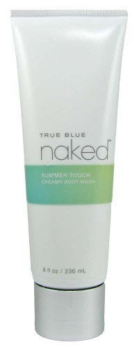 Bath & Body Works True Blue Spa Naked Summer Touch Creamy Body Wash 8 fl oz (236