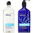 Bath and Body Works Aromatherapy Stress Relief Lavender Vanilla 10 Oz Body Wash