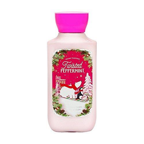 Bath & Body Works Shea & Vitamin E Lotion Twisted Peppermint 8oz
