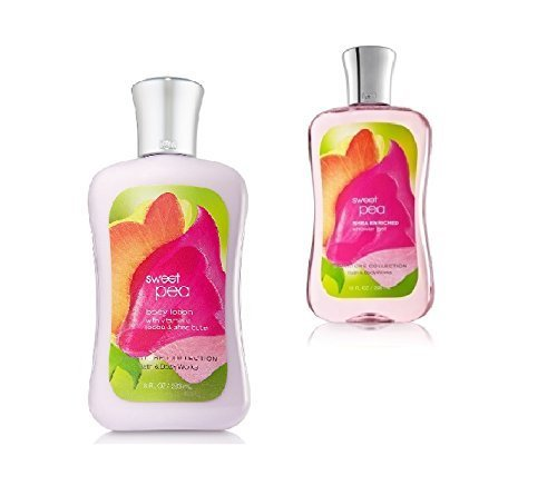 Bath and Body Works Signature Classics Pleasures Collection Body Lotion and Show