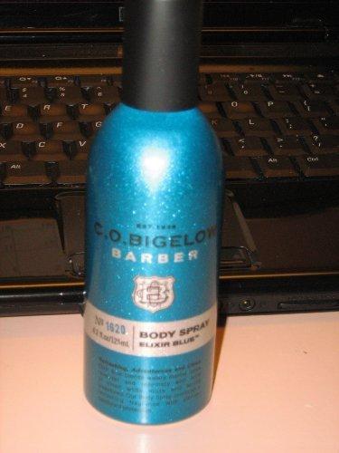 Bath and Body Works C.O. Bigelow No.1620 ELIXIR BLUE Deodorizing Body Spray 3.7