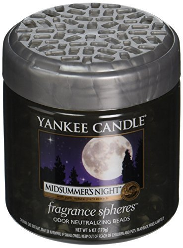 Yankee Candle Midsummer's Night Fragrance Spheres Odor Neutralizing Beads, Fresh