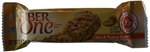 Fiber One Chewy Bars - Oats & Peanut Butter - 7 oz