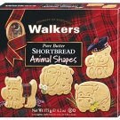 Walkers Shortbread Animal Shapes, 6.2 Ounce Box