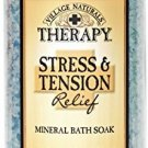 Village naturals Mineral Bath Soak, Aches and Pains Tension Relief, Juniper and