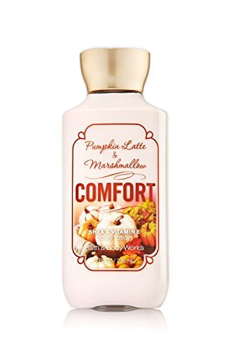 """Bath and Body Works """"""""comfort"""""""" Pumpkin Latte and marshmallow Lotion 8oz"""