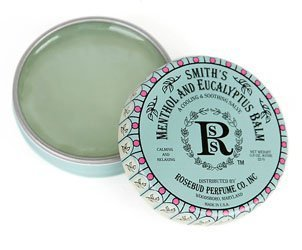 Rosebud Perfume Co. Smith's Menthol and Eucalyptus Balm 0.8 oz Tin