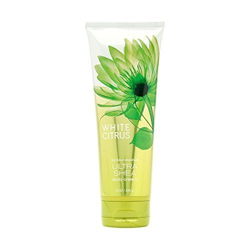 Bath & Body Works WHITE CITRUS 24 Hour Moisture Ultra Shea Body Cream 8 oz / 226