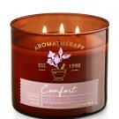 Bath & Body Works COMFORT - VANILLA & PATCHOULI 3-Wick Candle