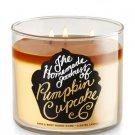Bath & Body Works PUMPKIN CUPCAKE 3-Wick Candle