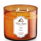 Bath & Body Works CIDER LANE 3-Wick Candle