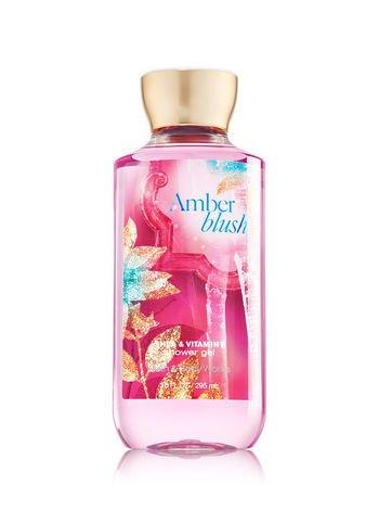 Bath & Body Works AMBER BLUSH Shower Gel (Pack of 2)