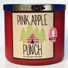 Bath & Body Works PINK APPLE PUNCH 3-Wick Candle