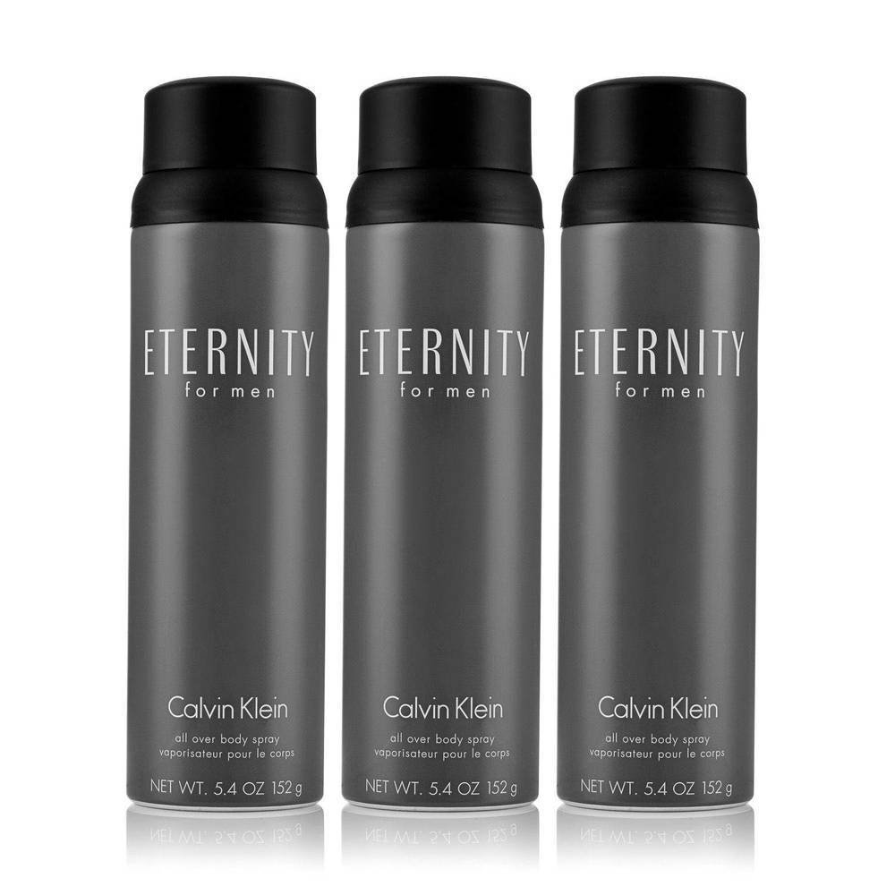 Calvin Klein Eternity for Men 3 Pack Body Spray 5.4 oz., 3 pk