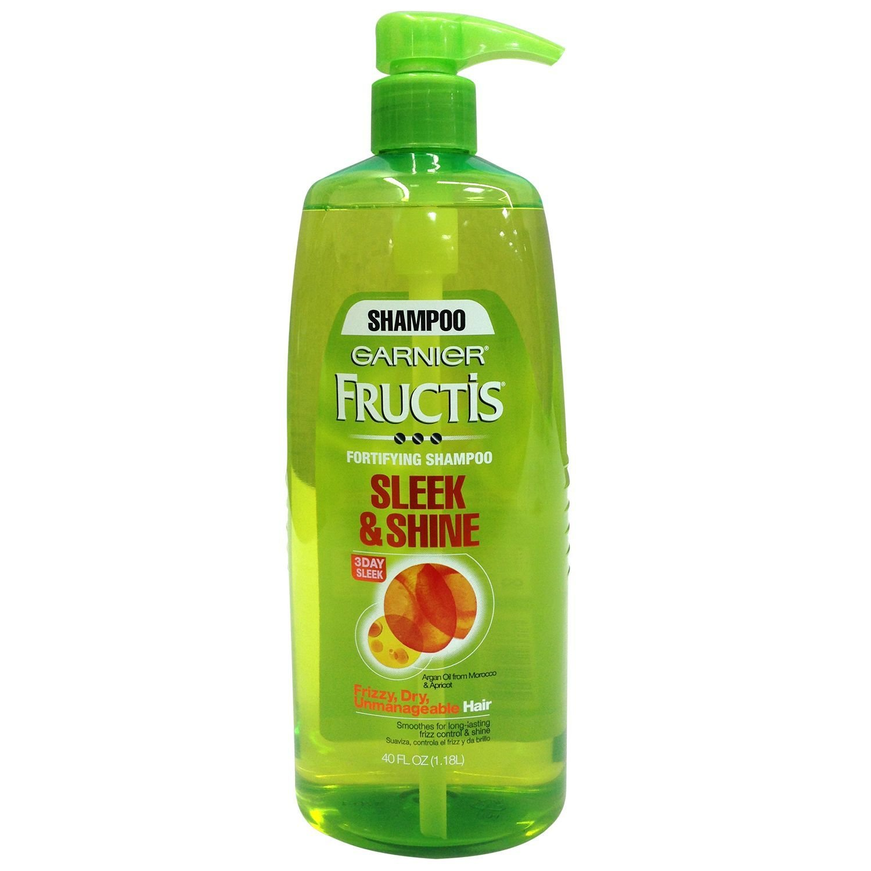 Garnier Fructis Sleek & Shine Shampoo, Pump 40 fl. oz