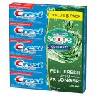 Crest Complete Whitening + Scope Toothpaste 7.3 oz., 5 pk