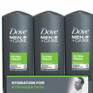 Dove Men+Care Body and Face Wash, Extra Fresh 18 oz., 3 pk
