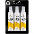 Olay Foaming Whip Body Wash, Shea Butter 10.3 oz., 3 pk