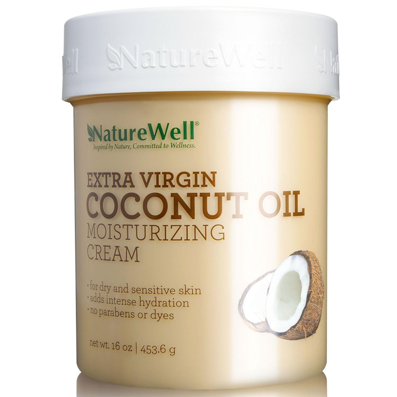Nature Well Extra-Virgin Coconut Oil Moisturizing Cream 16 oz.