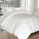 Natural Feather and Down Fiber Blend Comforter - Twin