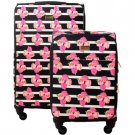 Macbeth Collection Petunia Soft Luggage 2-Piece Set