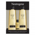 Neutrogena Body Oil Moisturizer 16 fl. oz., 2 pk. + 1.0 fl. oz., 1 pk