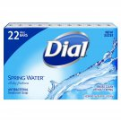 Dial Antibacterial Deodorant Soap, Spring Water 4.0 oz., 22 ct