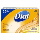 Dial Antibacterial Deodorant Soap, Gold 4 oz., 22 ct