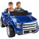 Power Wheels Ford F-150 12-Volt Battery-Powered Ride-On, Blue
