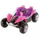 Power Wheels Dune Racer 12-Volt Battery-Powered Ride-On, Pink