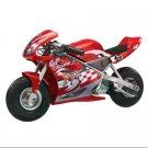 Razor Pocket Rocket 24V Mini Bike Electric Motorcycle - Red | 15120097